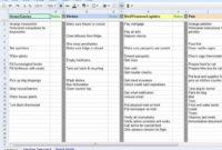 Travel Itinerary Template Google Docs - Planner Template Free inside Travel Agent Itinerary Template