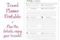 Travel Itinerary Template Online - Cards Design Templates regarding Travel Agent Itinerary Template