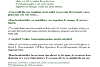 Workers Compensation Denial Letter Template – Fill Out And Intended For Compensation Claim Letter Template